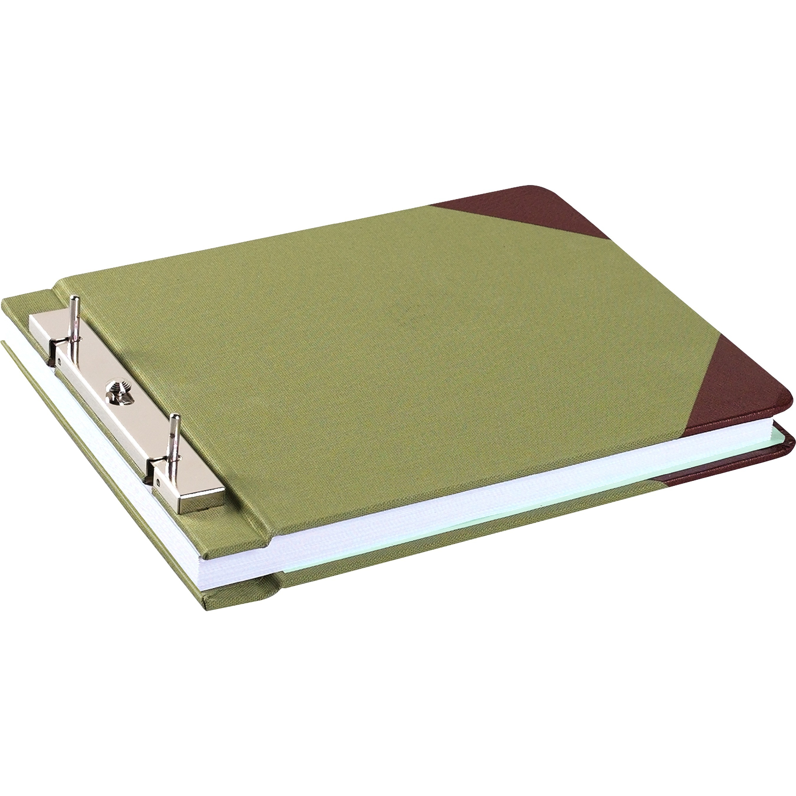 Wilson Jones, WLJ27827, Slotted Lock Post Binders, 1 / Each, Green