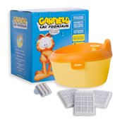 Garfield Purified Cat Water Fountain with Oral Care and Filters