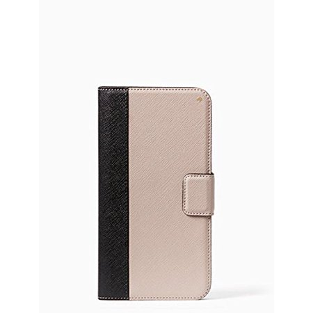 quality design 45f93 c5b53 Kate Spade New York Leather Wrap Folio Case For iPhone 7 Plus -  Black/Almonde