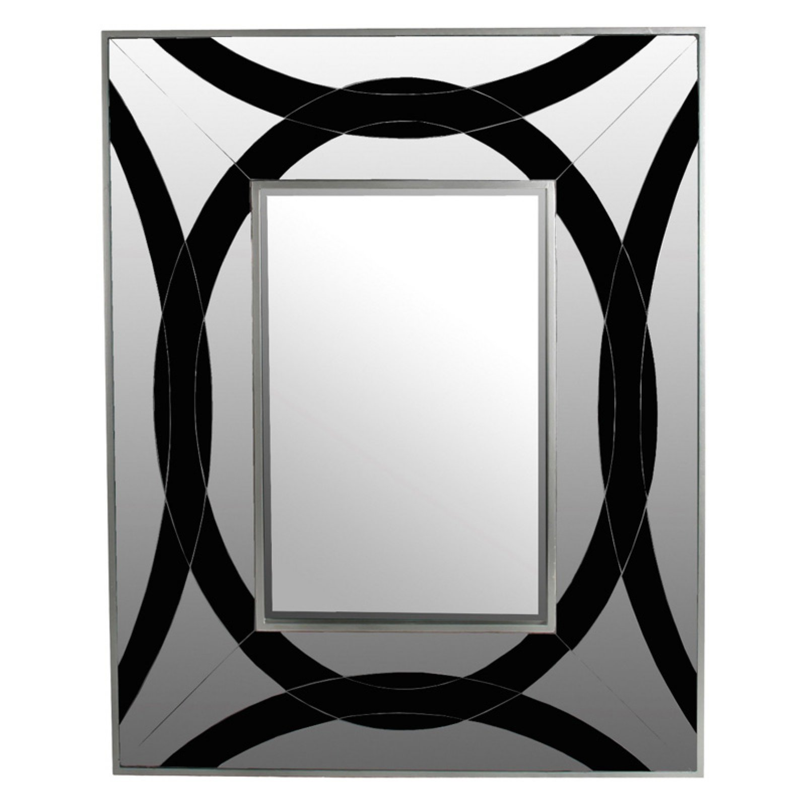 Privilege International Rectangle Wall Mirror - 31.5W x 39.5H in.