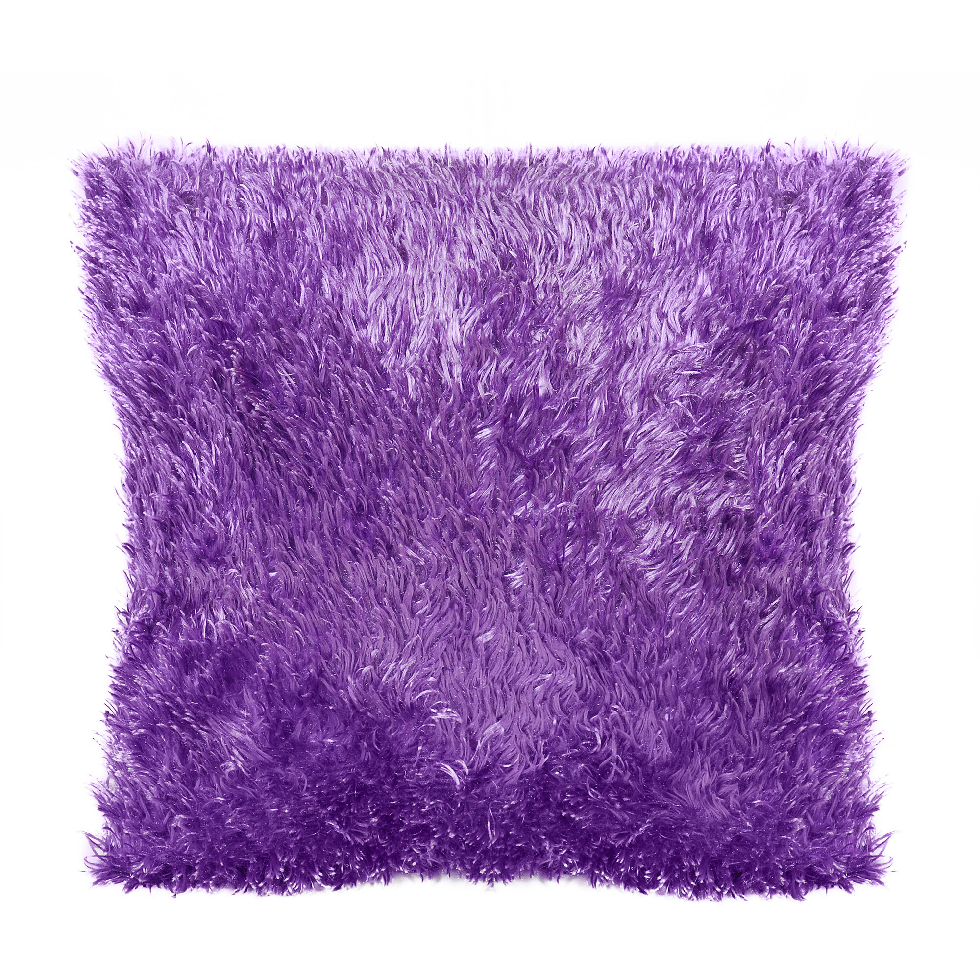 your zone eyelash fur decorative pillow