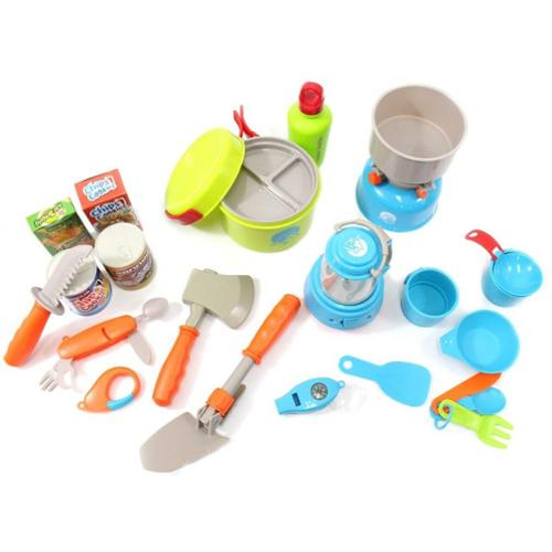Little Explorers Camping Gear Toy Tools Play Set (20pcs)