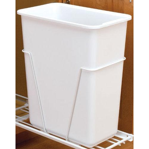 Rev-A-Shelf  6700-61  Trash Can Accessories  6700  Trash Cans  Replacement Trash Cans  ;White