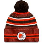 Cleveland Browns New Era 2019 NFL Sideline Home Official Sport Knit Hat - Brown/Orange - OSFA
