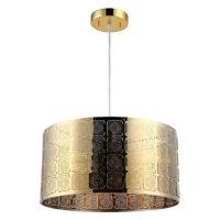 """CHLOE Lighting SIERRA Farmhouse 1 Light Gold Ceiling Pendant 15"""" Wide"""