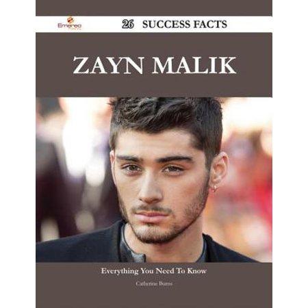 Zayn Malik 26 Success Facts - Everything you need to know about Zayn Malik - eBook (Zayn Malik Shoes)