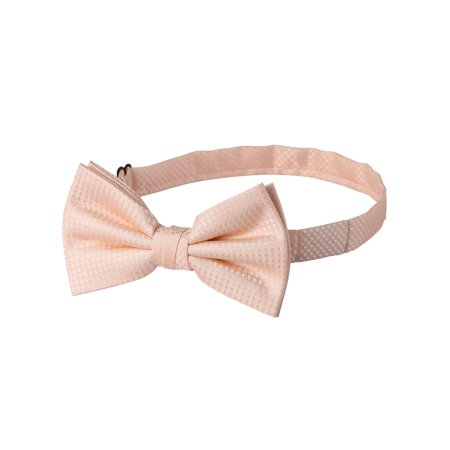 Houndstooth Bow Tie (Jacob Alexander Men's Tone on Tone Houndstooth Pre-Tied Bow)