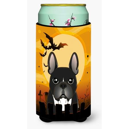 Halloween Traditions In France (Halloween French Bulldog Tall Boy Beverage Insulator Hugger)
