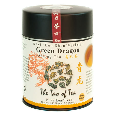 The Tao of Tea, Green Dragon Tea, Lose Leaf Tea, 3.5 Oz