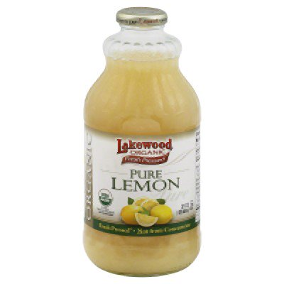 Lakewood Organic Fresh Pressed Juice, Lemon, 32 Fl Oz, 1 Count ()