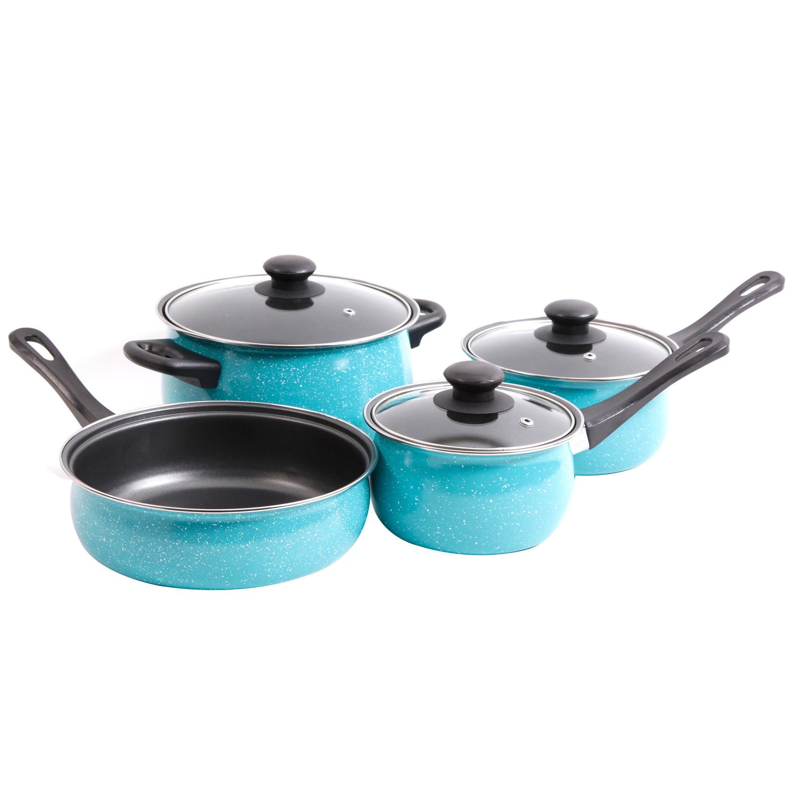 Gibson Casselman Carbon Steel 7 Piece Cookware Set