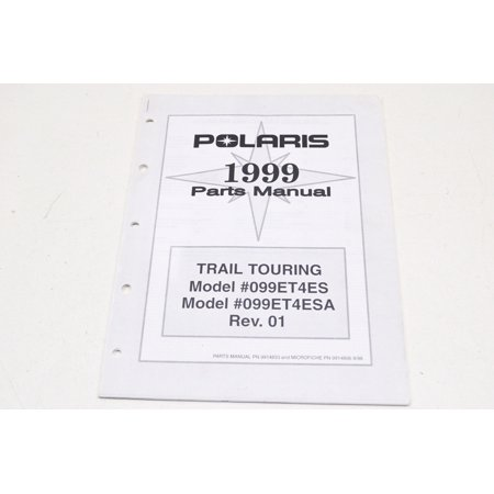1999 Trail Touring Parts Manual