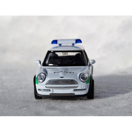 LAMINATED POSTER Model Car Mini Cooper Auto Vehicle Mini Toy Car Poster 24x16 Adhesive Decal