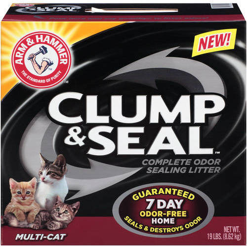 Arm & Hammer Multi-Cat Clump & Seal Cat Litter, 25.8 lb