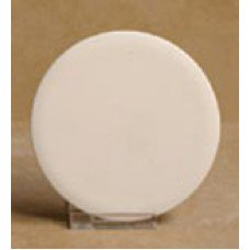 Ceramic bisque unpainted unfinished round unpainted tile coaster 3.5
