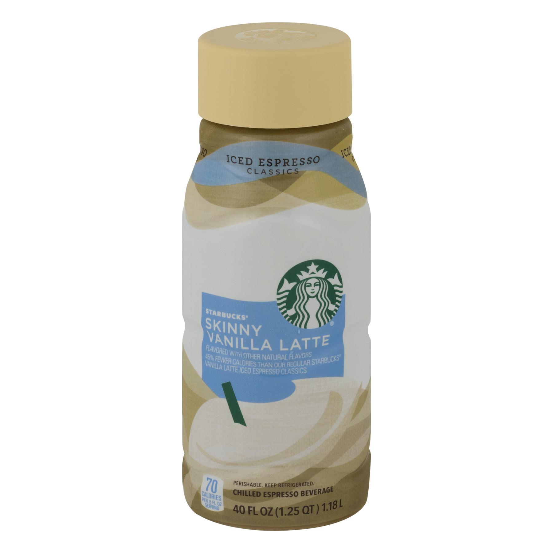 Starbucks Skinny Vanilla Latte Chilled Espresso Beverage 40