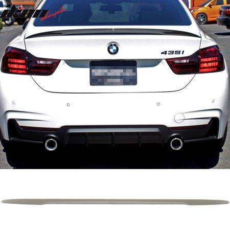 Compatible with 14-17 F32 4 Series Coupe 2D PerCompatible withmance Style Trunk Spoiler Wing - ABS 3 Series 2d Coupe