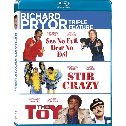 Richard Pryor Triple Feature: See No Evil, Hear No Evil / Stir Crazy / The Toy (Blu-ray) (Widescreen)