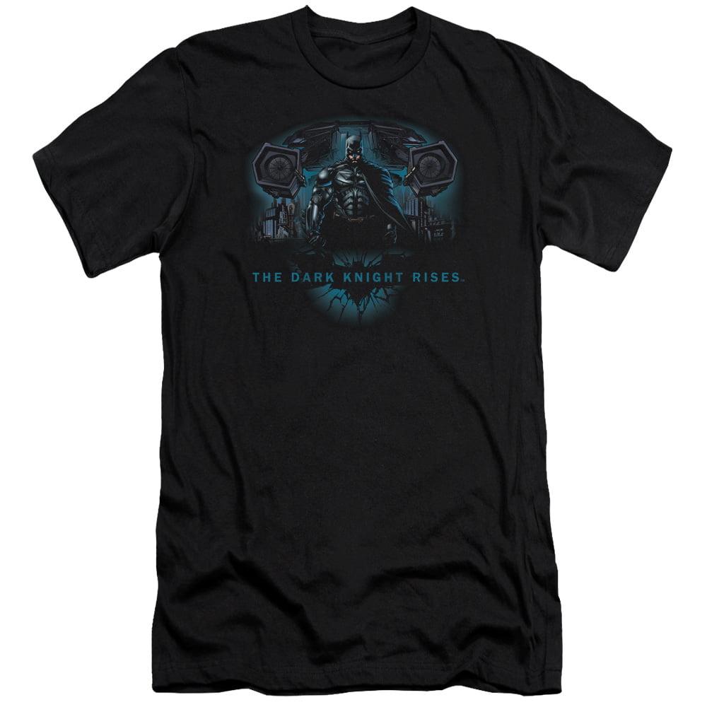 Dark Knight Rises/Gothams Dark Knight   S/S Adult 30/1   Black     Bm2105