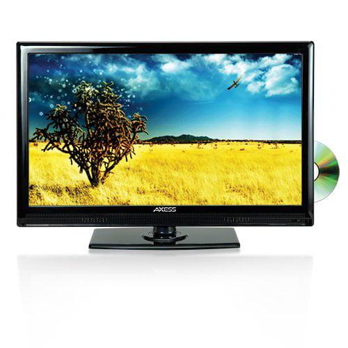 Axess TVD1801-13 13.3-Inch LED HDTV, Features 12V Car Cor...