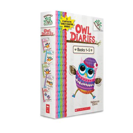 Owl Diaries, Books 1-5: A Branches Box Set (The Best Of Owl City)
