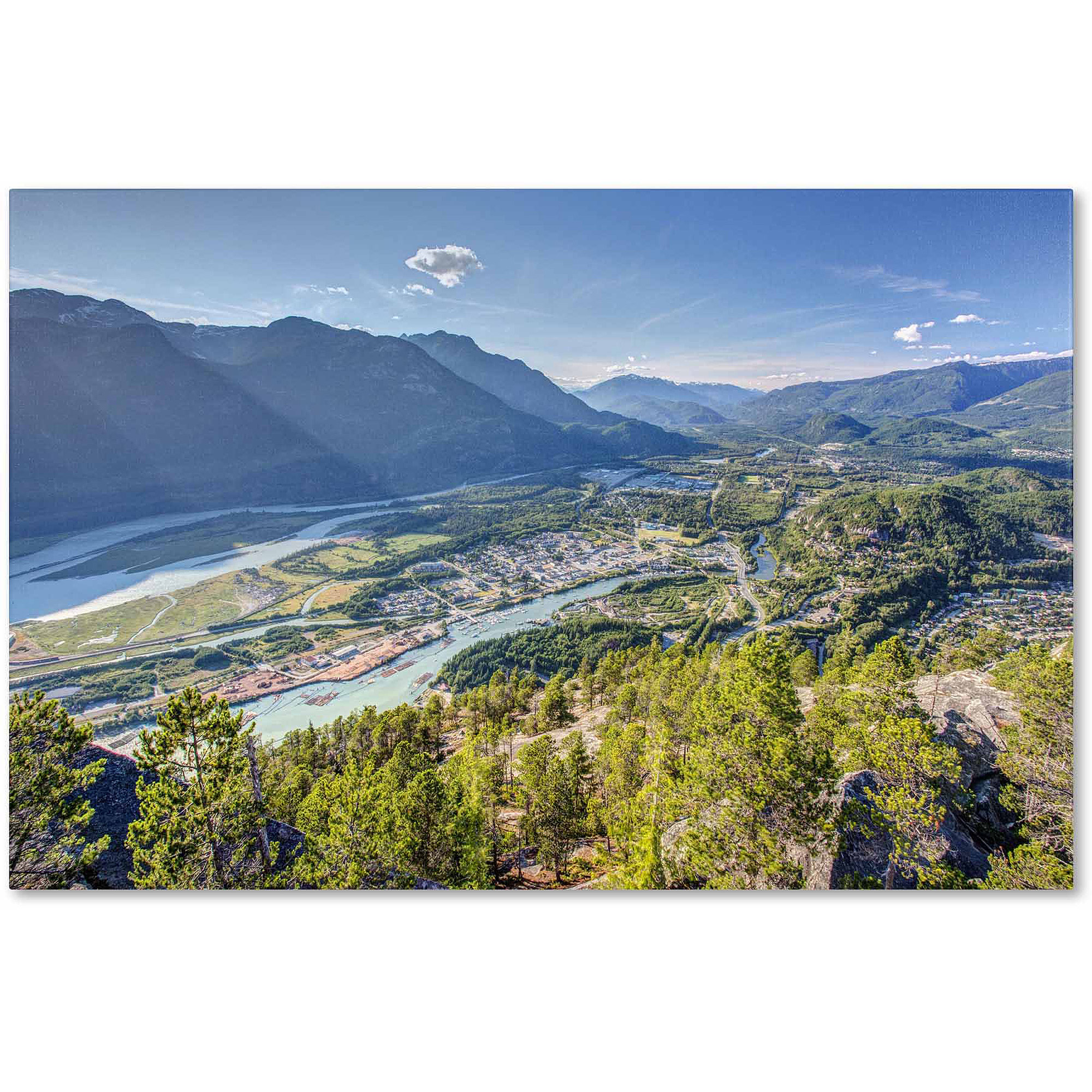 "Trademark Fine Art ""Squamish"" Canvas Art by Pierre Leclerc"