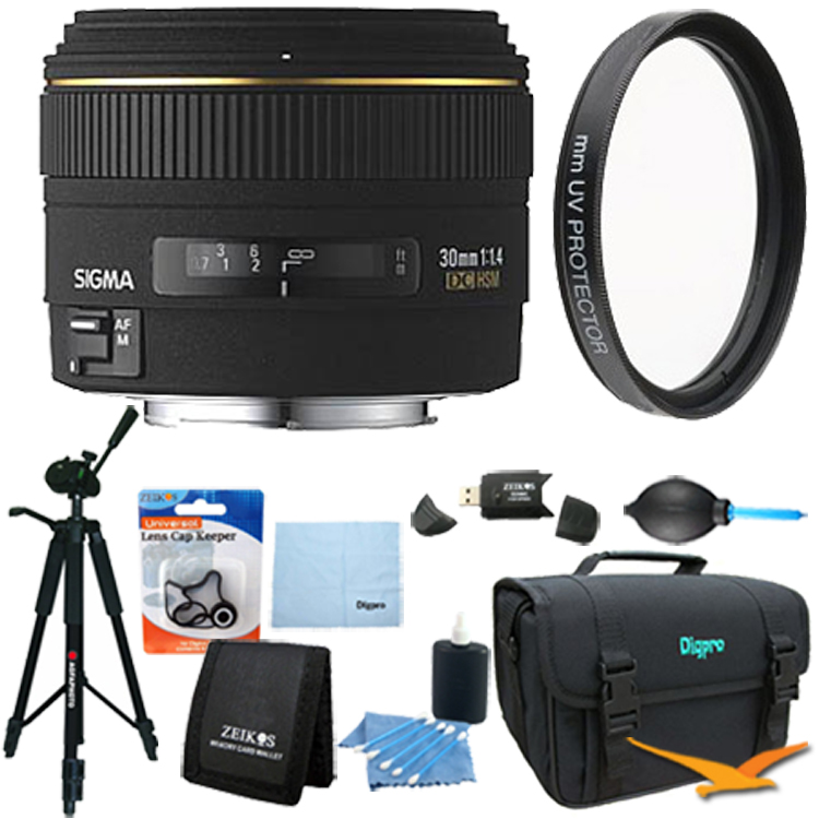 Sigma 30mm f/1.4 EX DC HSM Autofocus Lens for Canon DSLR ...