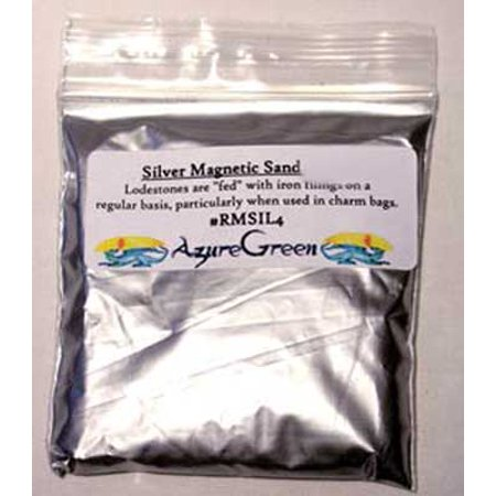 Magnetic Sand (1 Lb Silver Magnetic Sand (Lodestone)