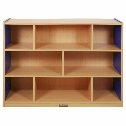 "***FASTTRACK***CE 8 Compartment Storage Cabinet 36""H - BL"