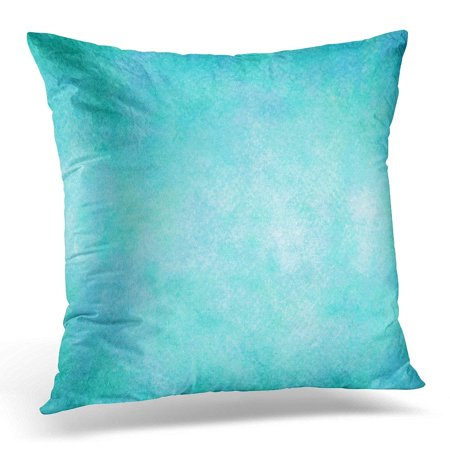 - BPBOP Purple Seafoam Light Blue Teal Aqua Watercolor Colorful Turquoise Pillowcase Cover 18x18 inch