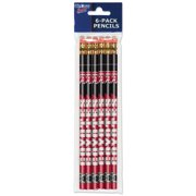 American Logo Products South Dakota Coyotes Pencils, 6-Pack