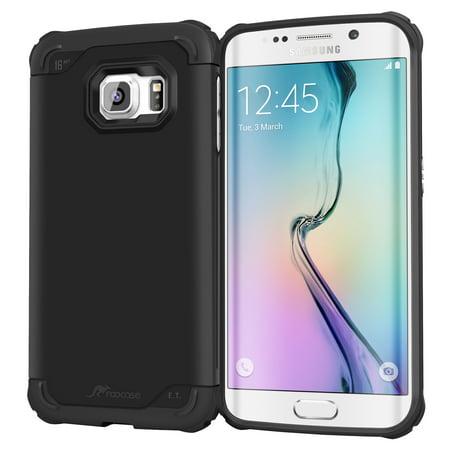 Galaxy S6 Edge Case, roocase [Exec Tough] Galaxy S6 Edge Slim Fit Case Hybrid PC / TPU [Corner Protection] Armor Cover Case for Samsung Galaxy S6 Edge (2015)](mont blanc case galaxy s6)
