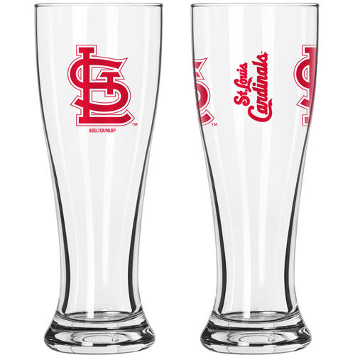 Boelter Brands MLB St. Louis Cardinals 2-Pack Gameday Pilsner Set