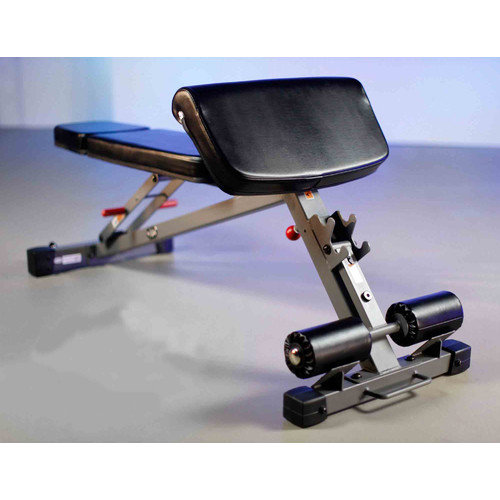 XMark Comm. Hyperextension and Preacher Curl Weight Bench