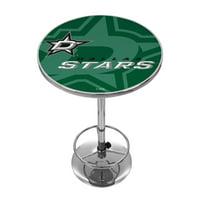 NHL Chrome Pub Table - Watermark - Dallas Stars