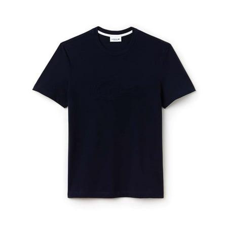 Lacoste Men'short Sleeve Graphics Jersey Padded Croc Reg Fit T-Shirt