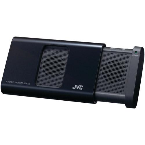 JVC SPA130B Portable Compact Speaker (Black)