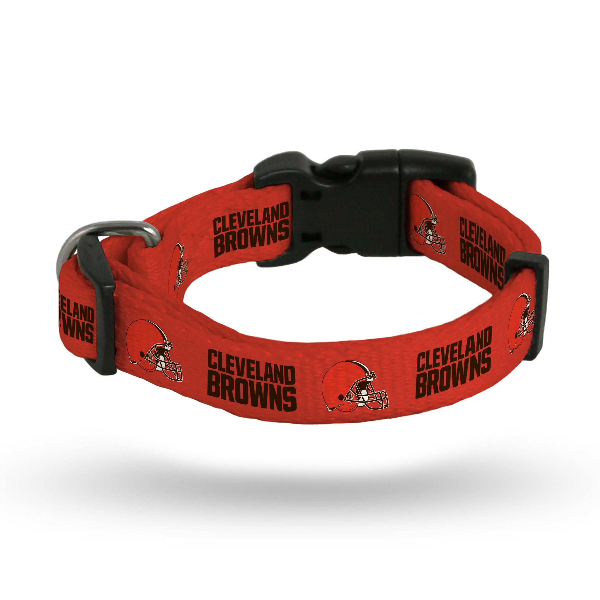 Cleveland Browns Sparo Rugged Pet Collar