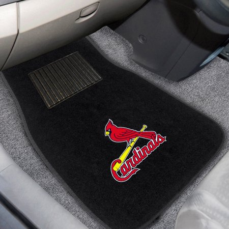 Arizona Cardinals Car Mats (St. Louis Cardinals 2-Piece Embroidered Car Mat Set - No Size)