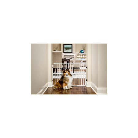 Carlson Metal Expandable Pet Gate, 26-42 inches wide, Pressure