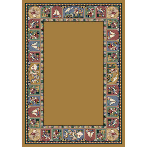 Milliken Signature Toy Parade Golden Topaz Area Rug