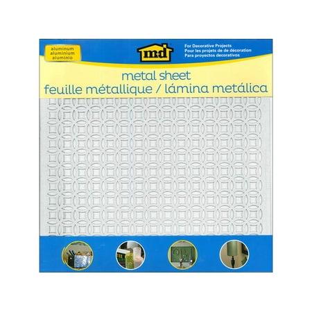 Pewter Metal Embellishments - MD Metal Sheet 12x12