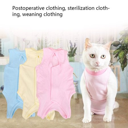 Cat Sterilization Service Postoperative Anti-bite Anti-add Four Feet Clothes - image 6 of 8