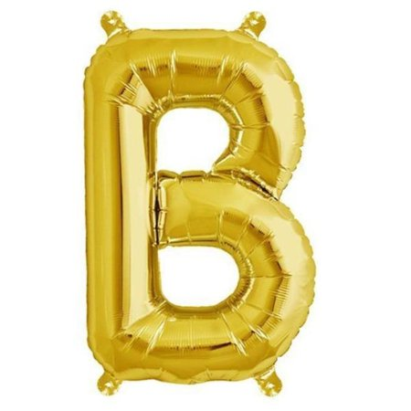 "Efavormart 16"" Shinny Gold Foil Balloons Letter Balloons For Wedding Party Decorations Graduation New Year Eve Party Supplies"