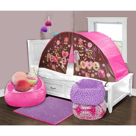 Kids Scene Owl Play Bed Tent Walmart Com