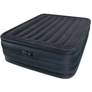 Intex Queen 22 Raised Downy Airbed Mattress With Built In Electric
