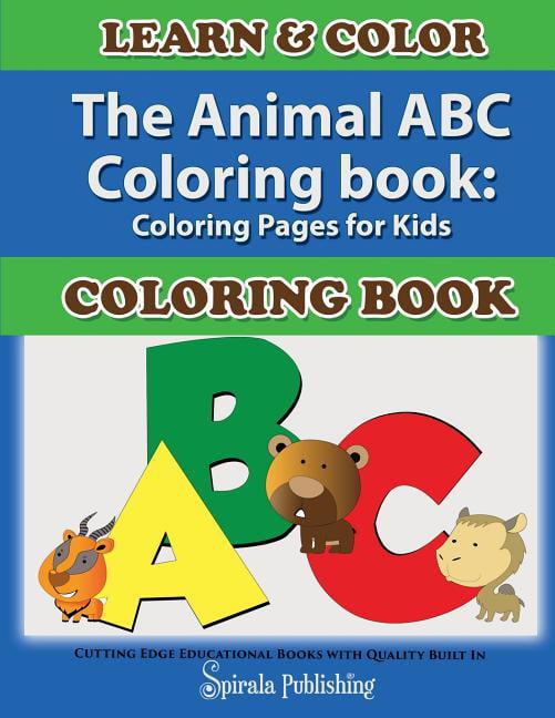 The Animal ABC Coloring Book (Paperback) - Walmart.com - Walmart.com