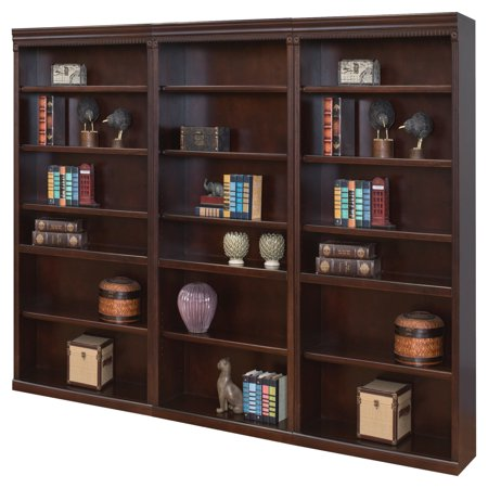 Martin Furniture Huntington Club Wood Wall Bookcase - Cherry