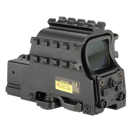 Outdoor Tactical Riflescope Tubeless Holographic Green Red Dot Sight Optics Riflescope Hunting (Best Ar 15 Scope For Hog Hunting)