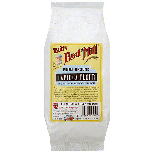 Bob's Red Mill Finely Ground Tapioca Flour, 20 oz (Pack of 4)